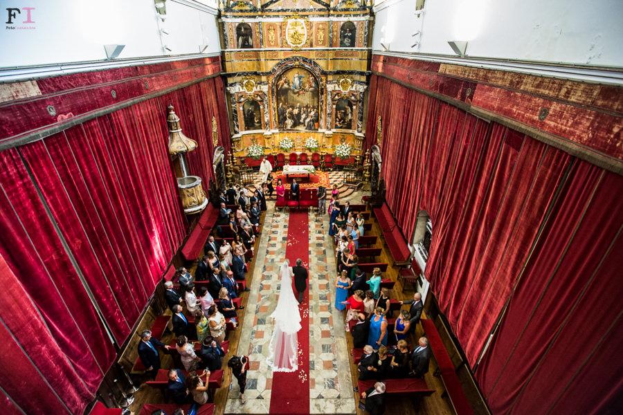 boda en la capilla de la universidad de salamanca