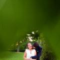 fotografias de la sesion de pareja en el castillo de viñuelas