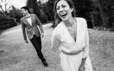 Boda campestre rockera en la Sierra de Madrid | Elena y Sergi