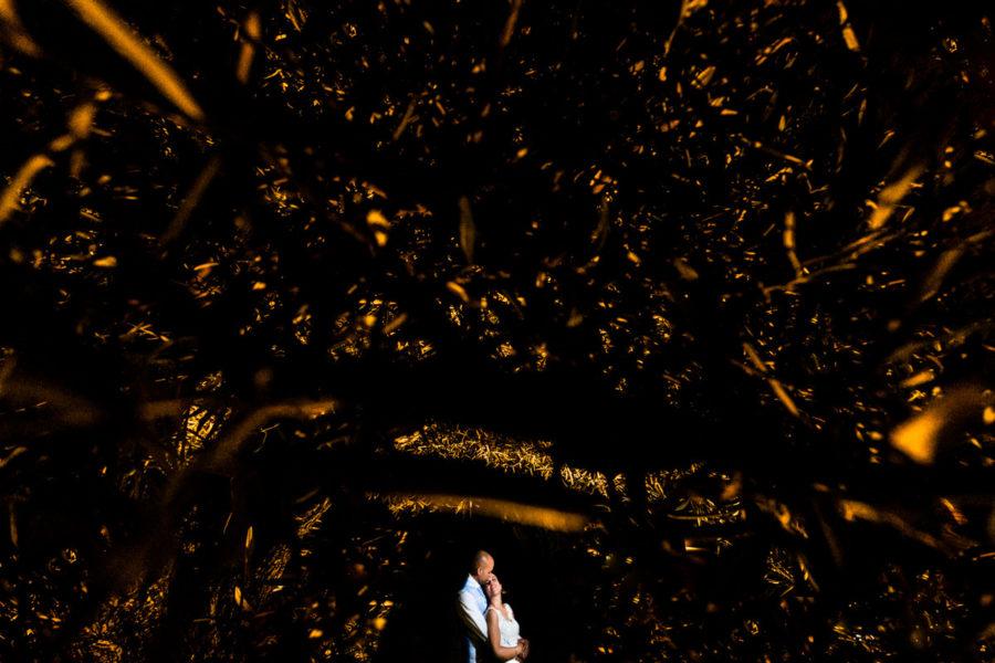 boda en el restaurante in zalacain