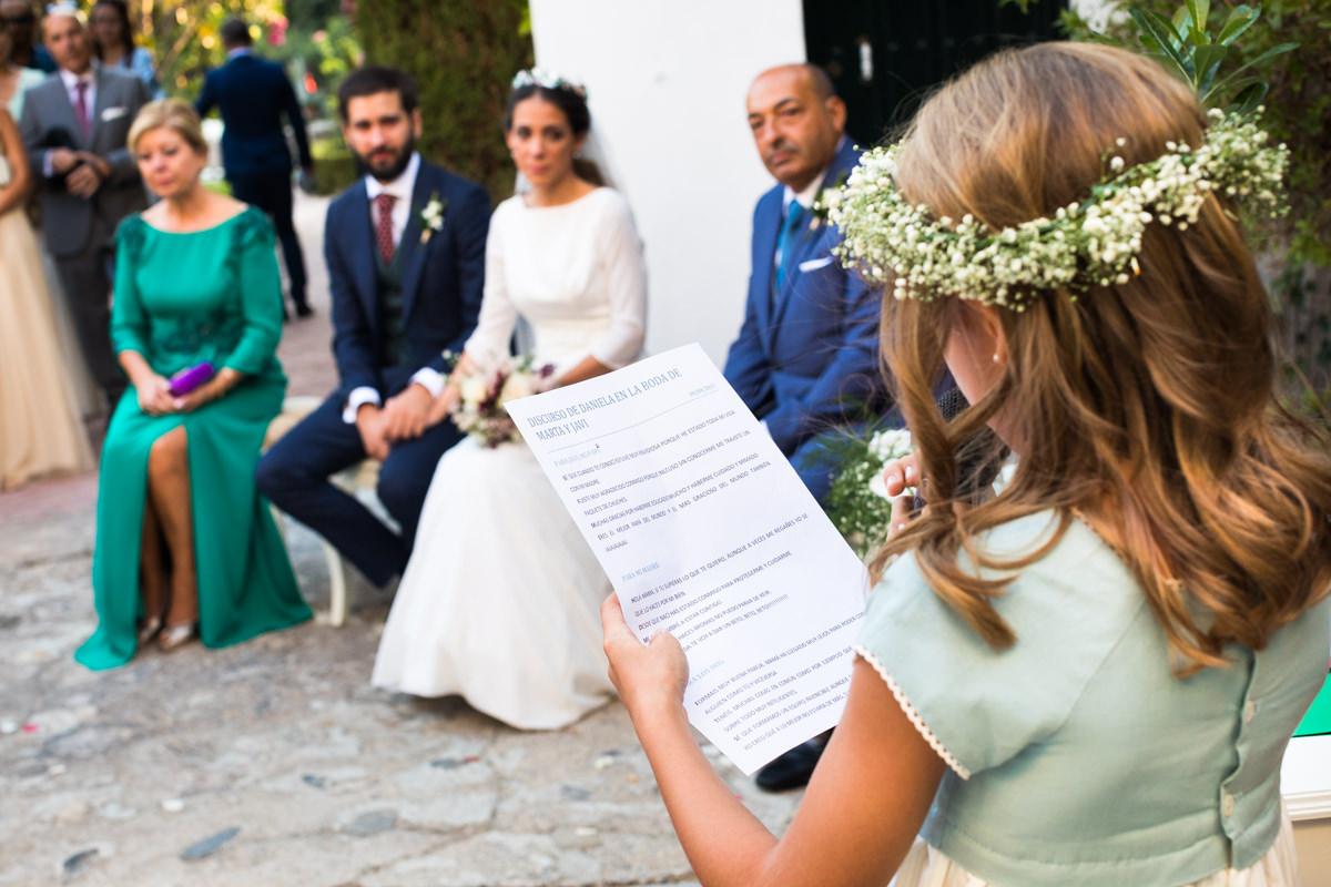 ceremonia civil en cortijo