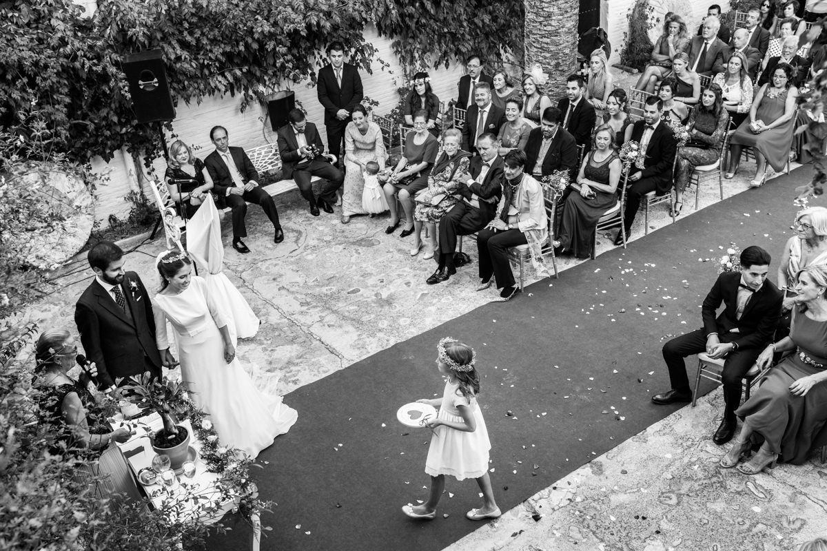 fotografias de boda en el cortijo caballo blanco