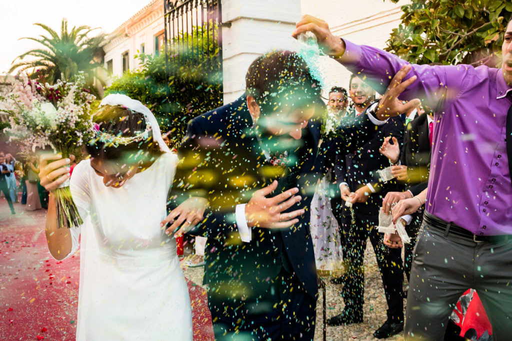 ideas de boda | arroz de colores