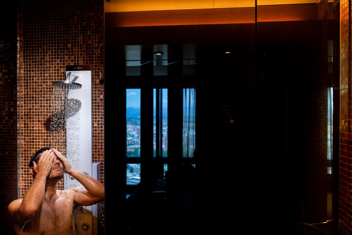 habitacion de novios en el Hotel Eurostars Madrid Tower