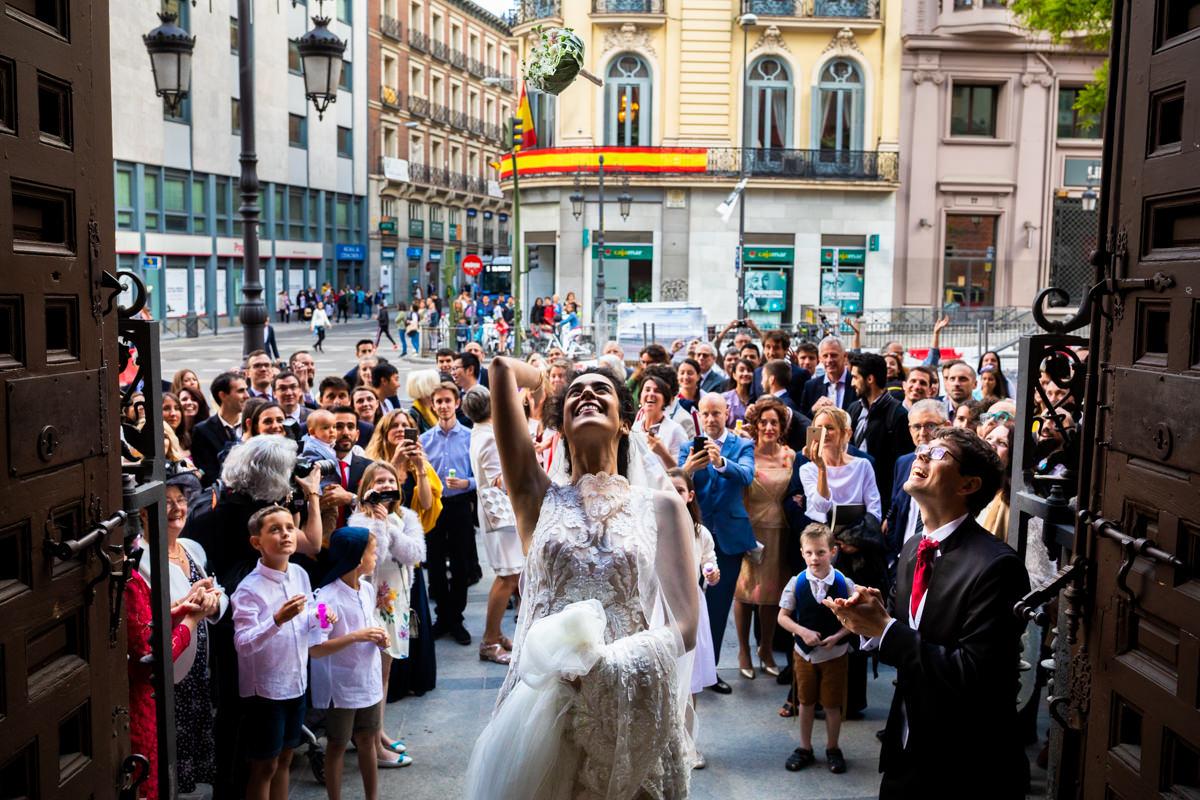 boda en la iglesia de las calatravas