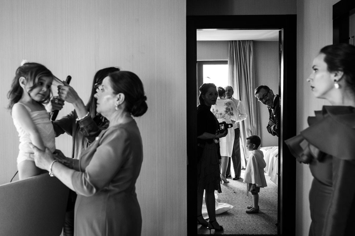 maquillaje para la novia en la suite del conde luna