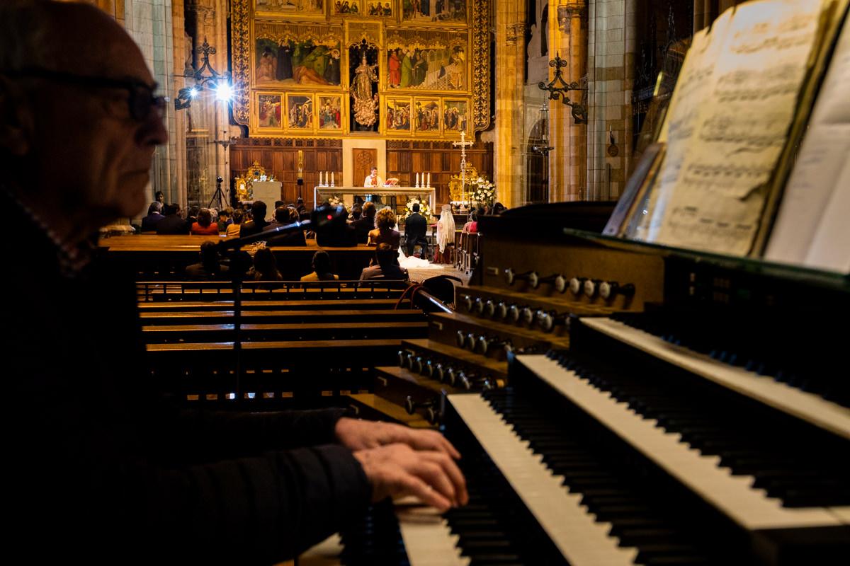 musica para la boda en la catedral de leon