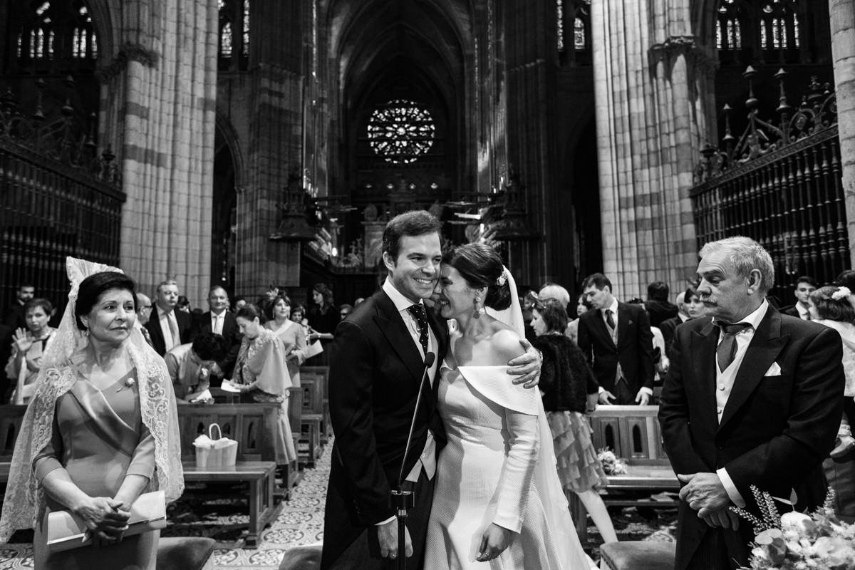 ceremonia de boda en la catedral de leon
