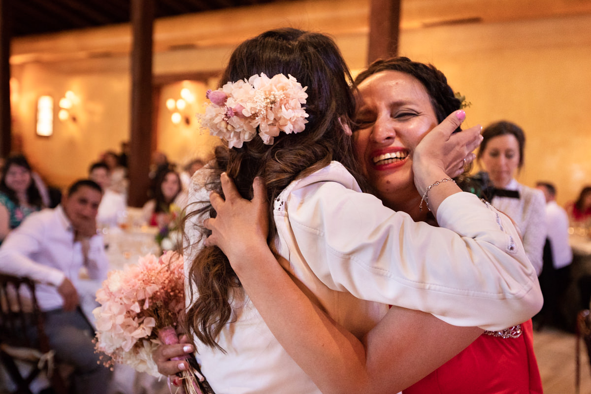 sorpresa de novia a hermana