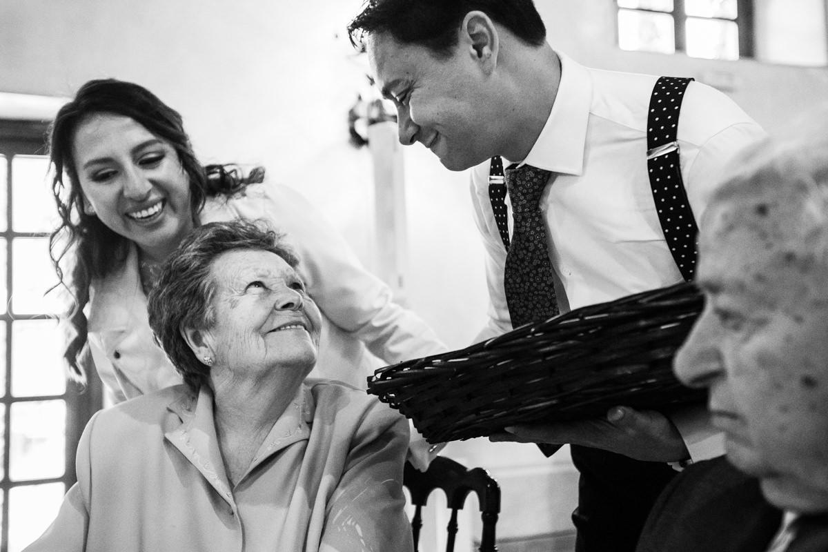 ideas de regalo para abuelos en boda