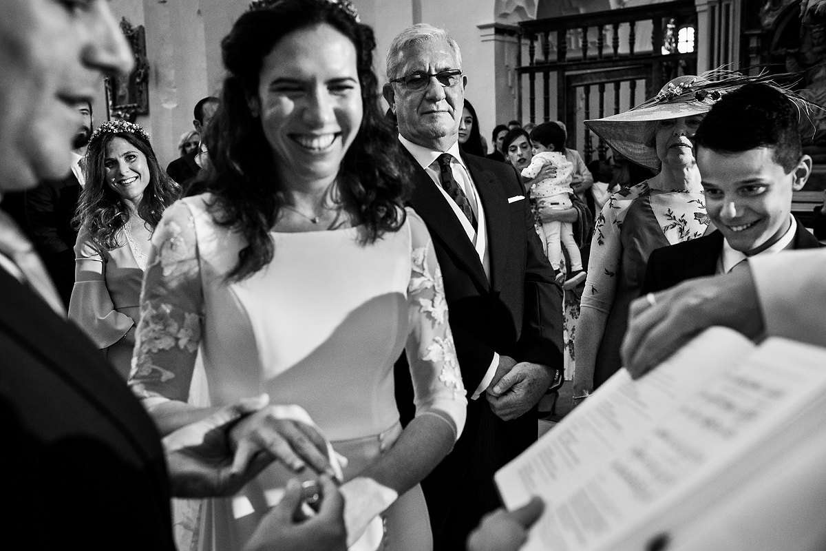 boda en la iglesia de pedraza
