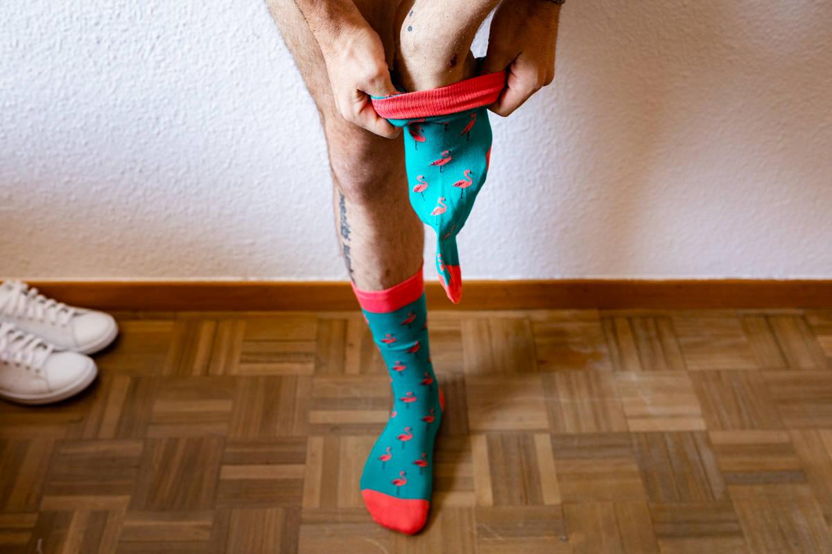 calcetines de boda para novios
