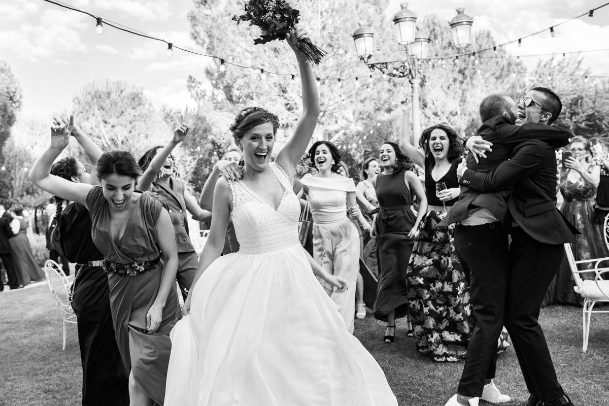 coctail de boda en la finca soto de gracia