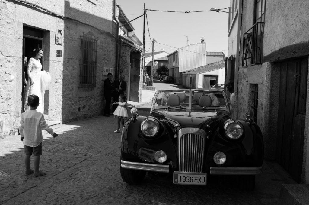 alquiler de coches de boda en salamanca