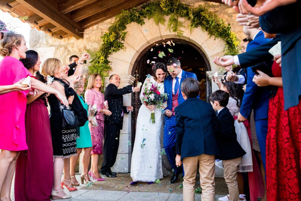 celebracion de boda en la fonca casas del sevillano