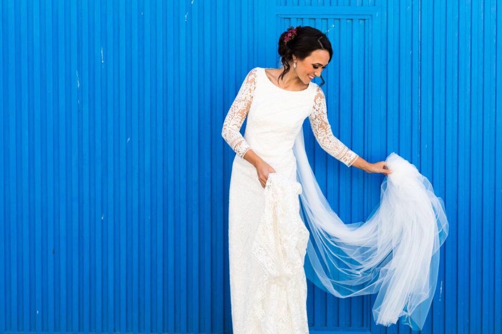 vestido de novia de valenzuela atelier