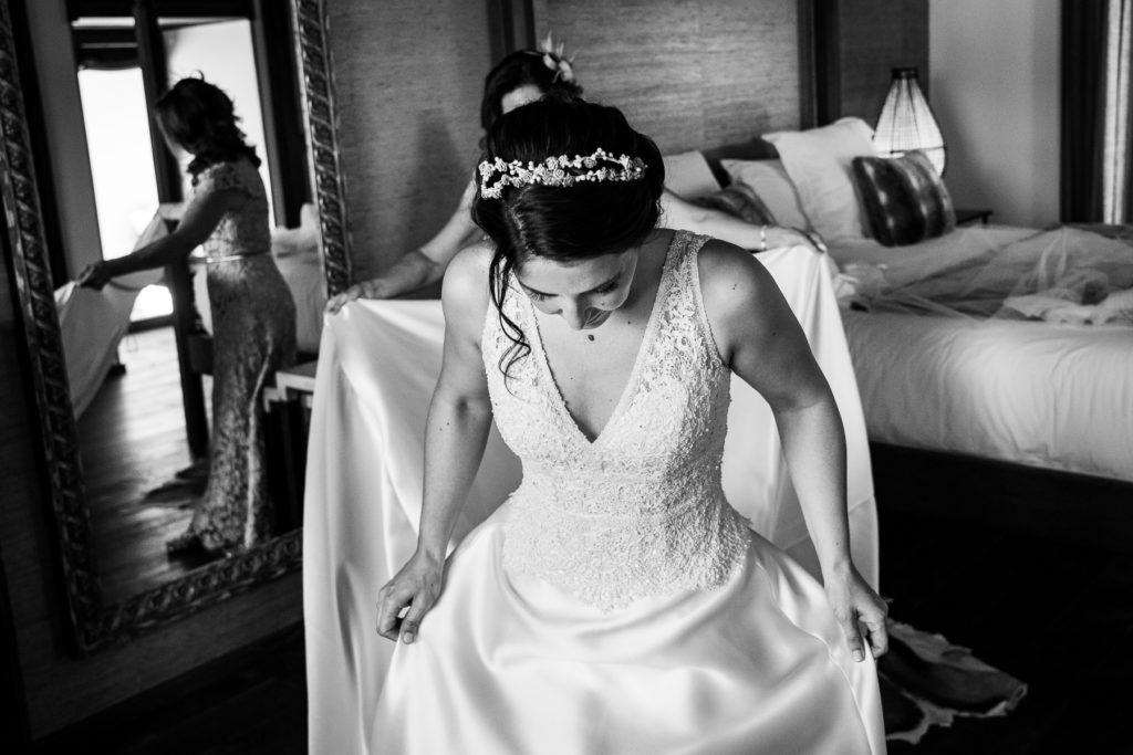 vestido para novia en toledo