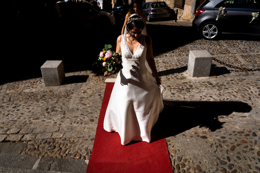 boda en la parroquia santa leocadia en toledo