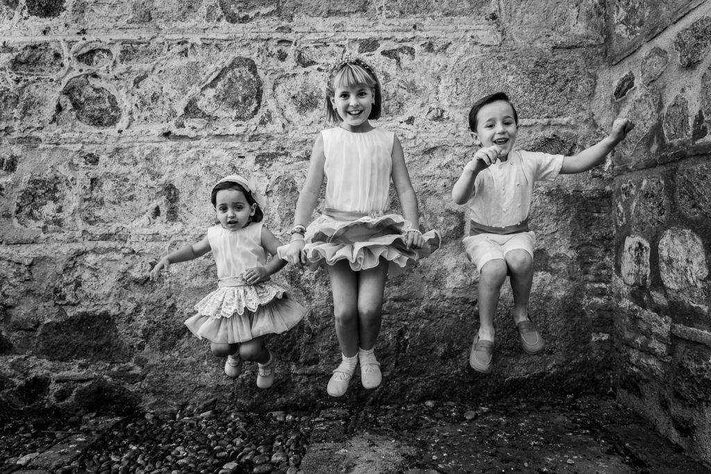 ideas para niños en bodas