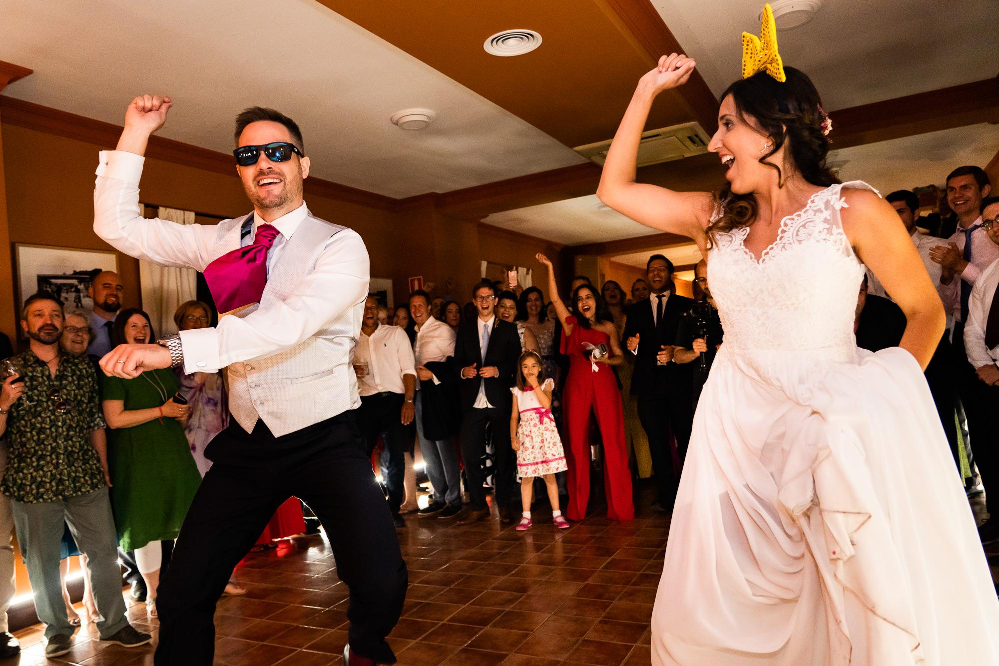 fiesta de boda en la finca encinasola