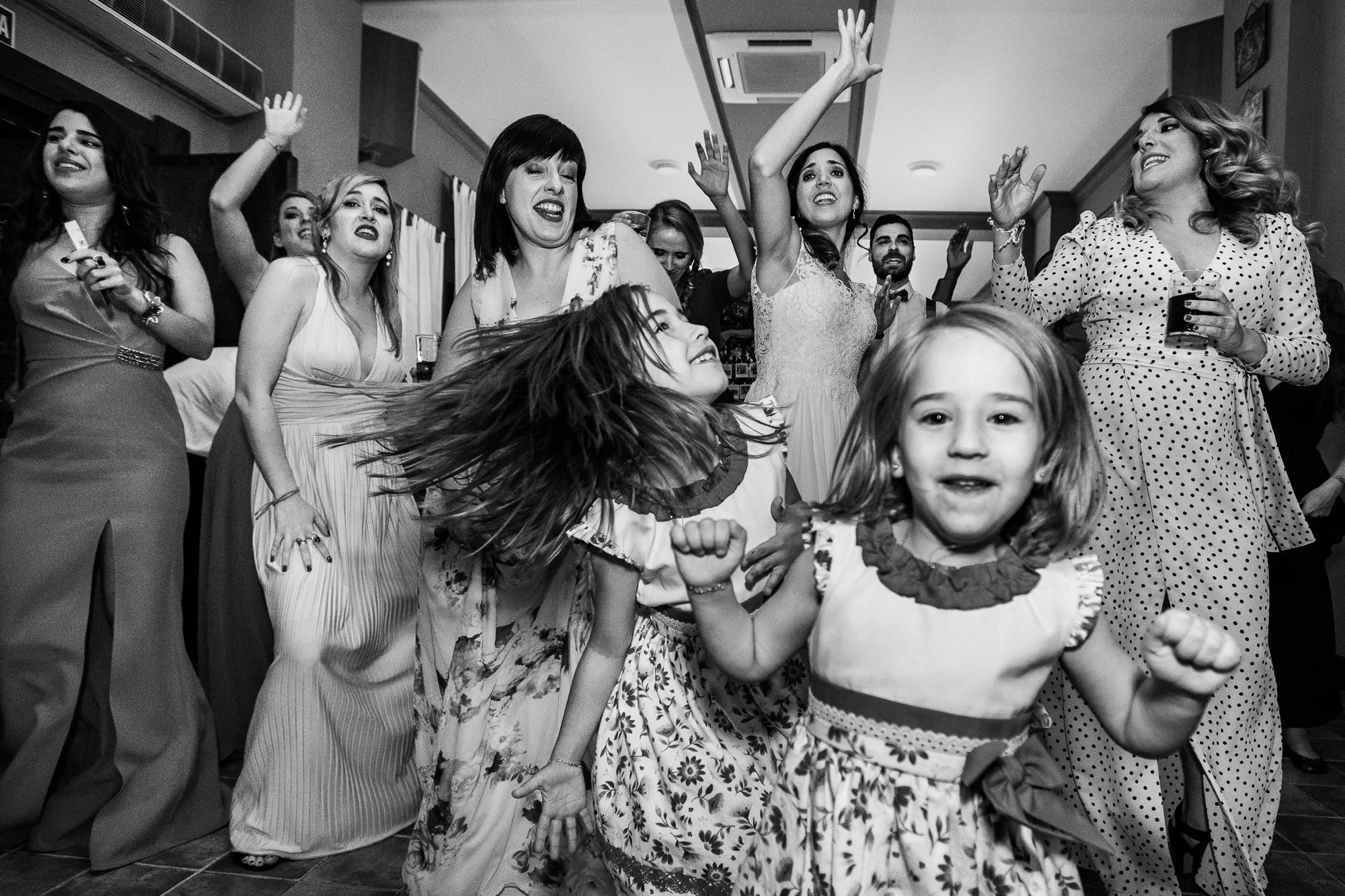 baile de novios en la boda
