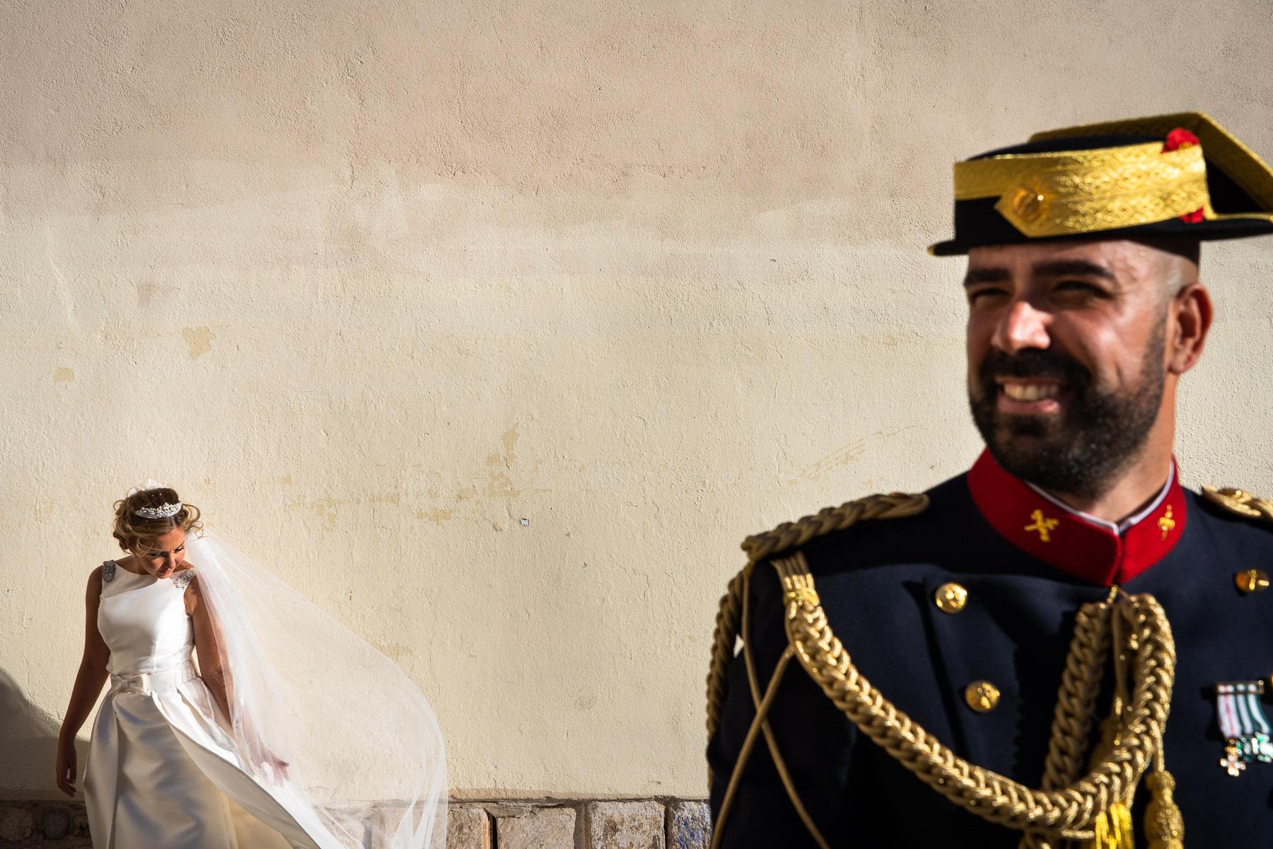 boda militar en soto de monico