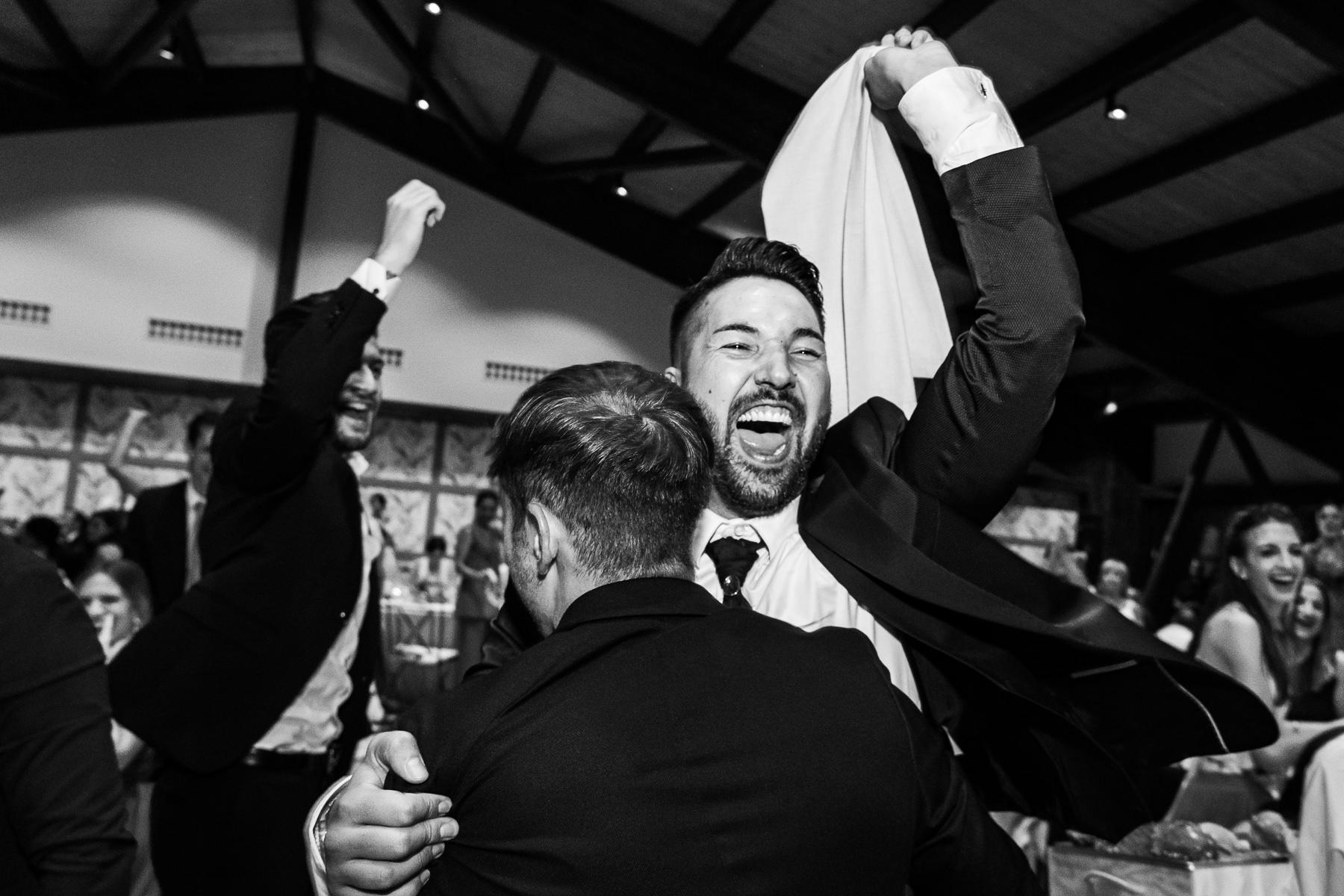 celebracion de la boda en la finca soto de monico