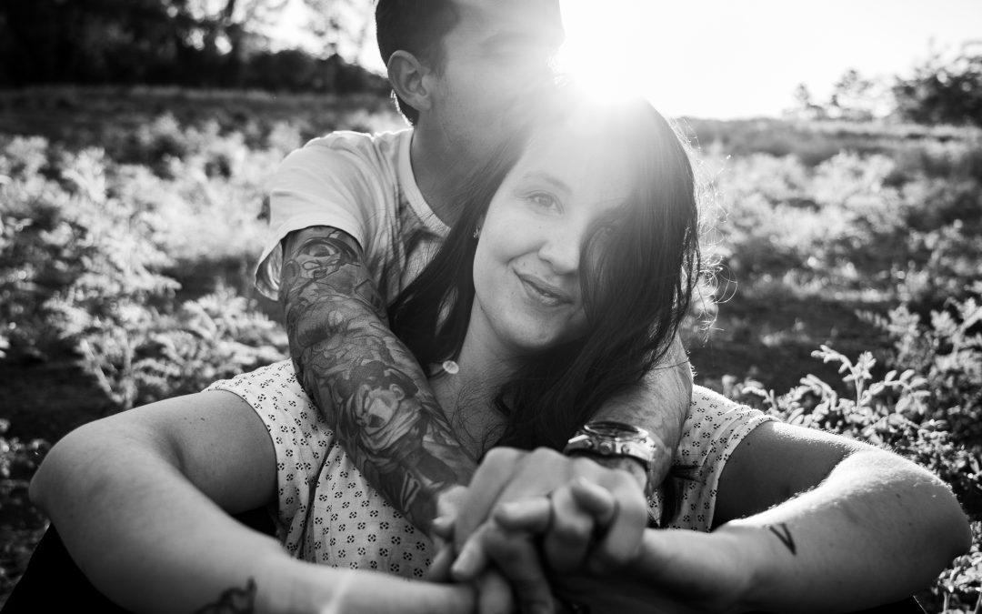 sesión de fotografia de pareja en arroyomolinos