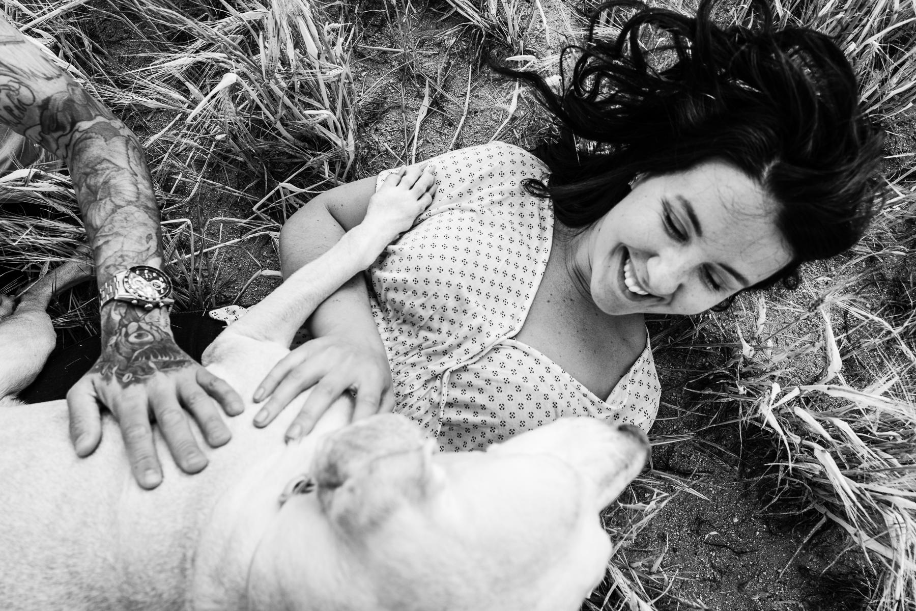 fotografias de pareja con mascotas