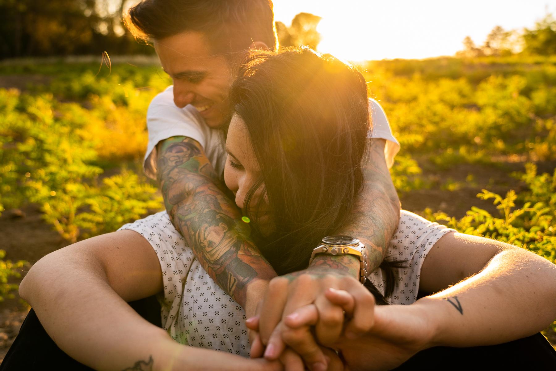 sesion fotografica para parejas