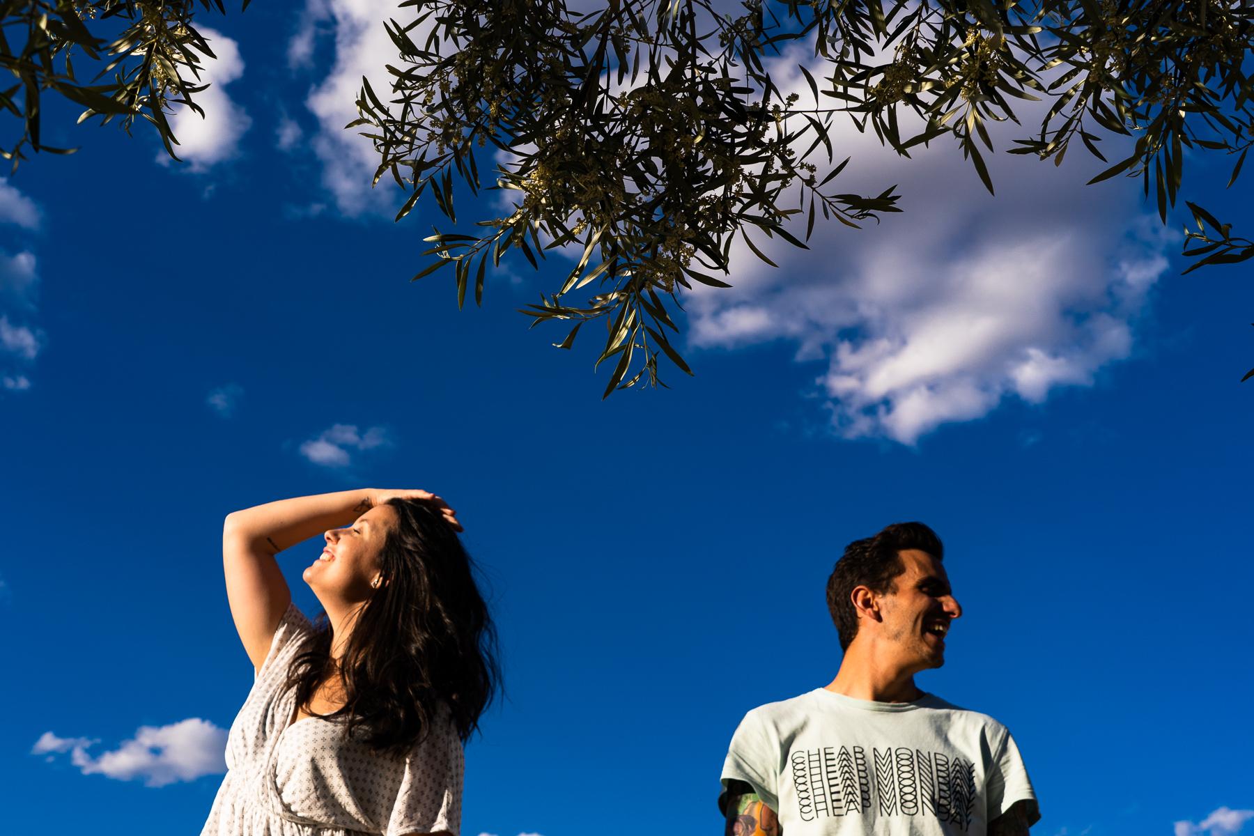 fotografia de pareja en arroyomolinos